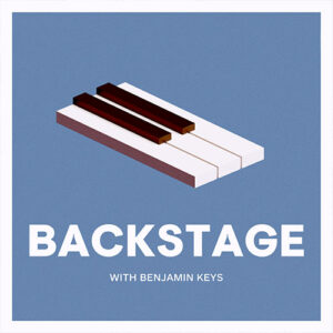 Backstage with Benjamin Keys